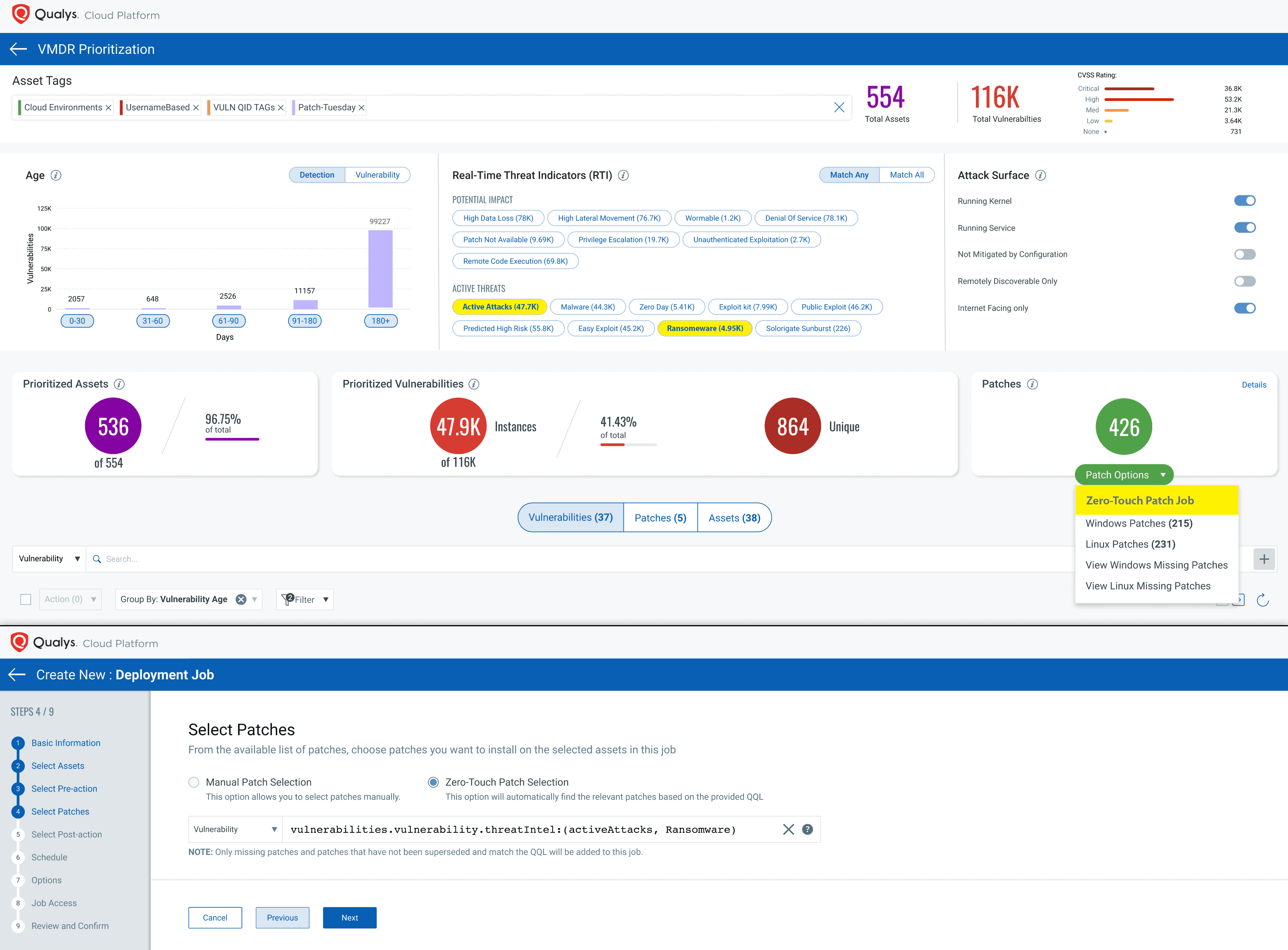 Zero-Touch patch job