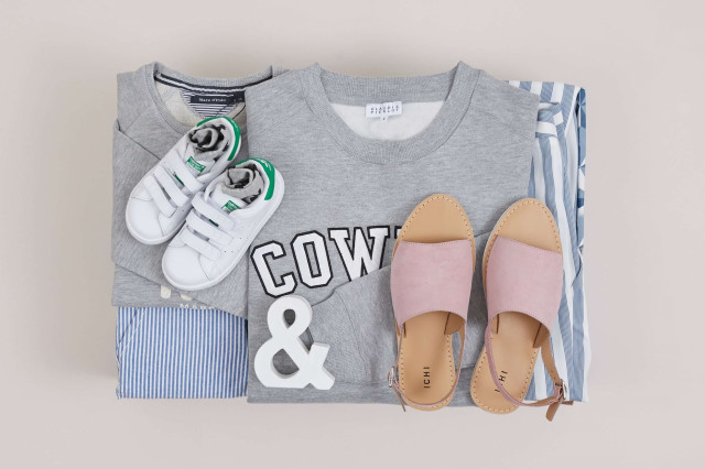 Partnerlook Eltern Kind von Zalon by Zalando Mini Me Box Beispiel Mutter Kind Outfit