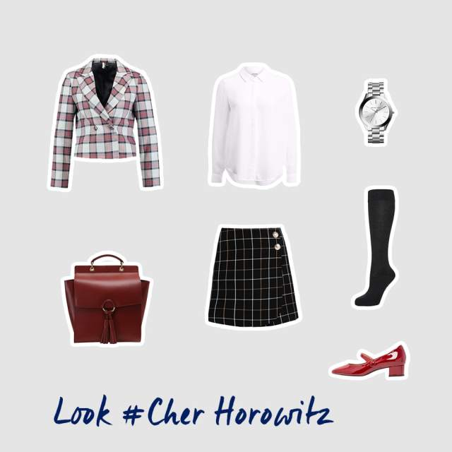 Cher Horowitz inspiriertes Outfit