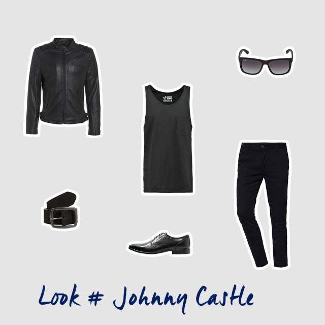 Johnny Castle inspiriertes Outfit