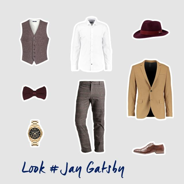 Jay Gatsby inspiriertes Outfit