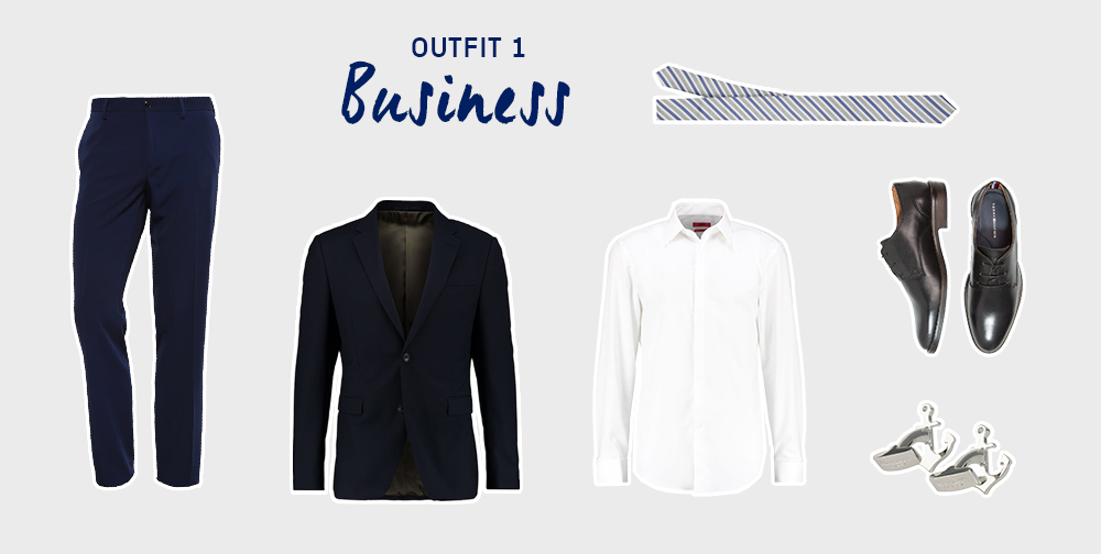 Frank Underwood outfits 1