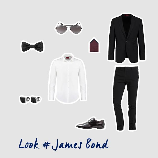 James Bond inspiriertes Outfit