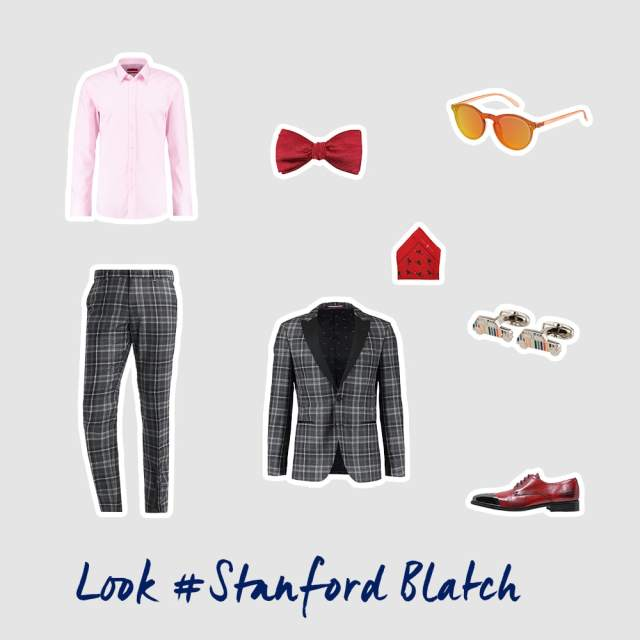 Stanford Blatch inspiriertes Outfit