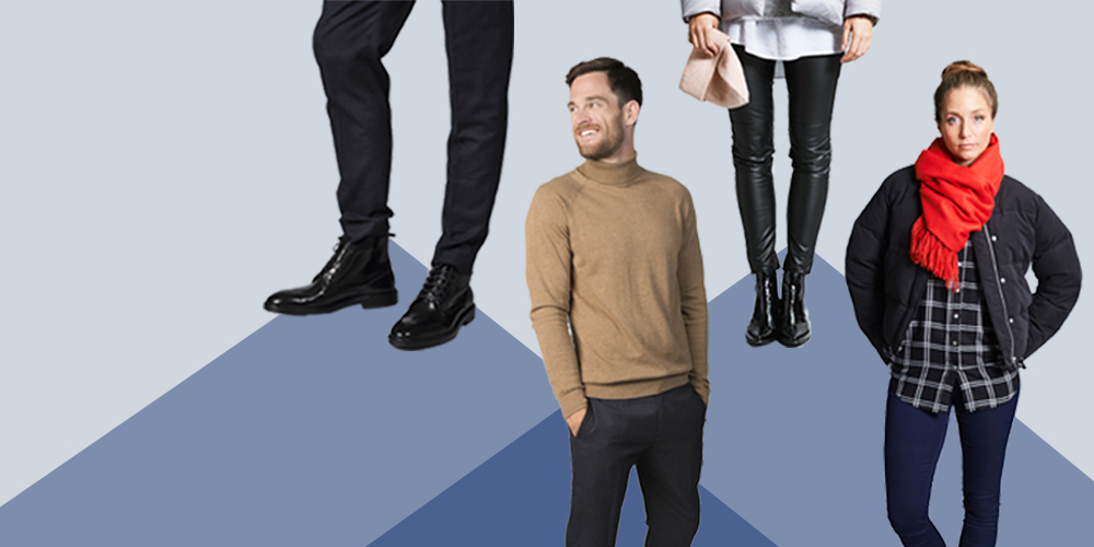 Winter Outfits von Zalon by Zalando Beispiel Headerbild Mann und Frau in Winter Outfits