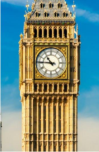 Elizabeth Tower (also known as Big Ben), London