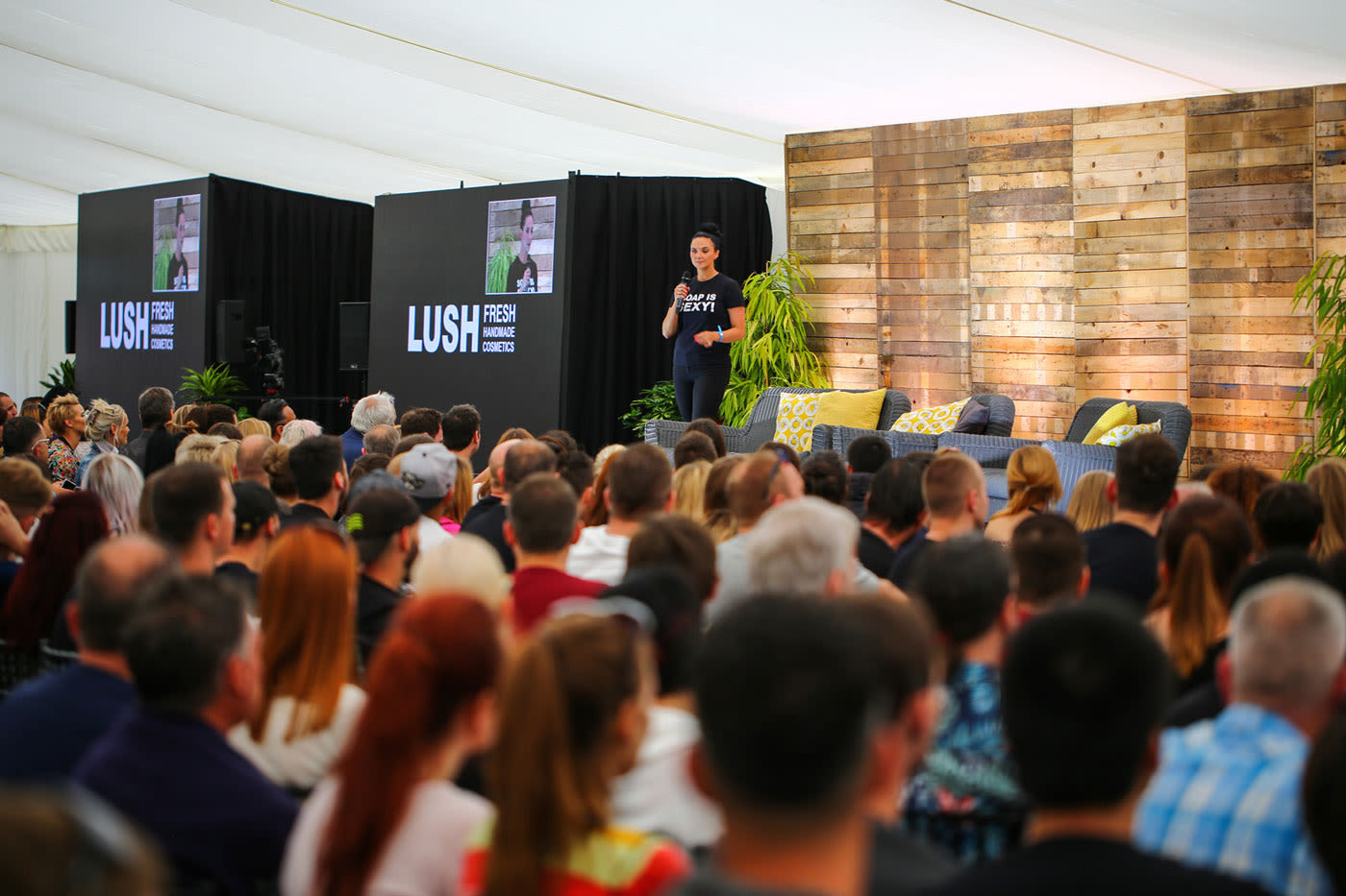 event-management-lush-announcement