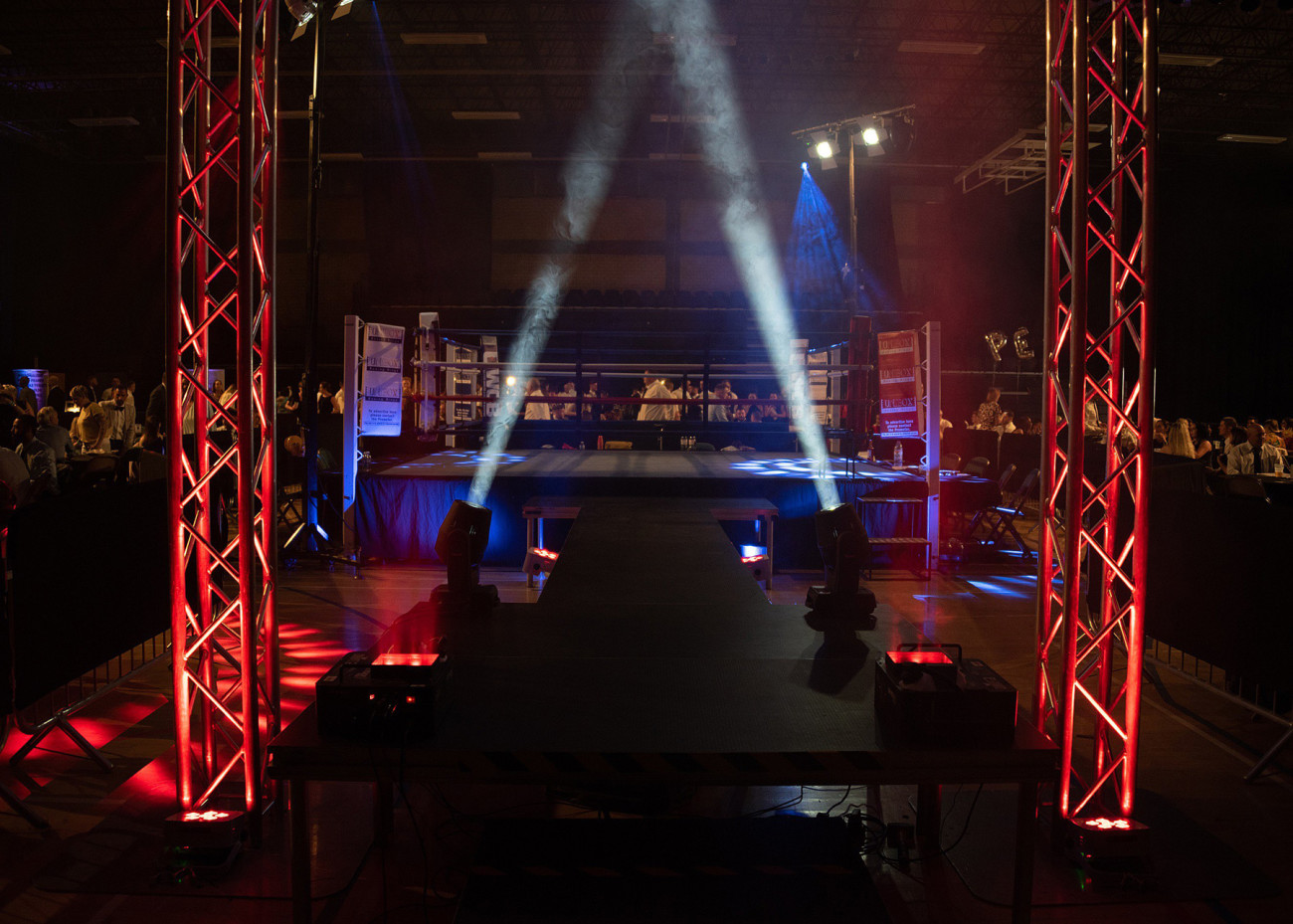 UWCB Ring Side View