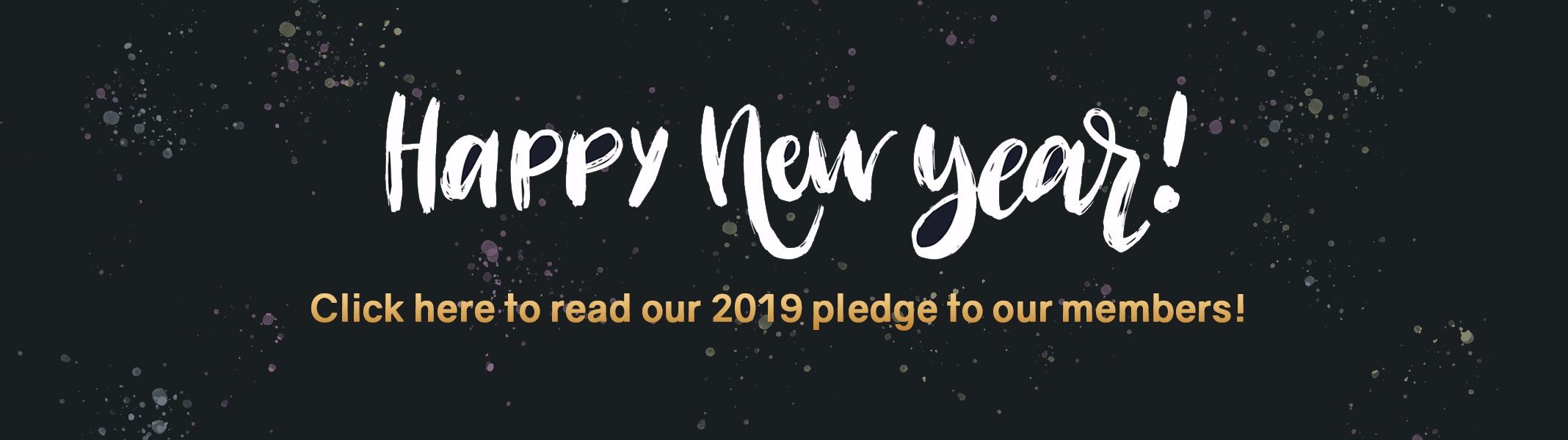 New Year Pledge