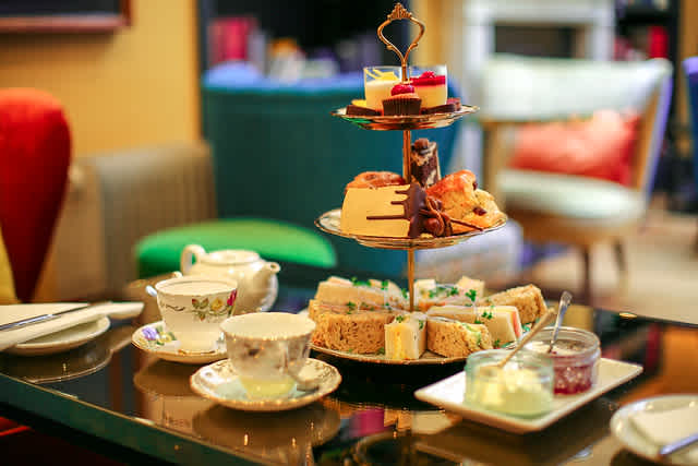 The Fox Club best private clubs in Mayfair - afternoon tea