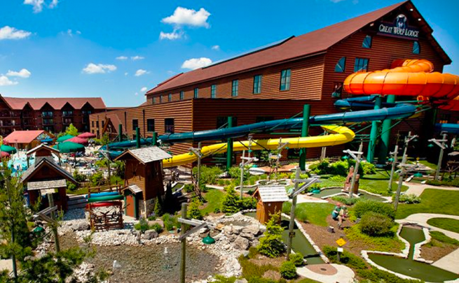Great Wolf Resorts background