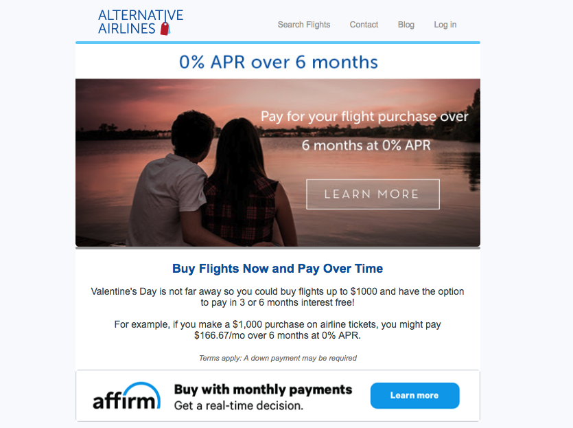 Alternative Airlines offers alternative payments to make booking travel more convenient - Image 3
