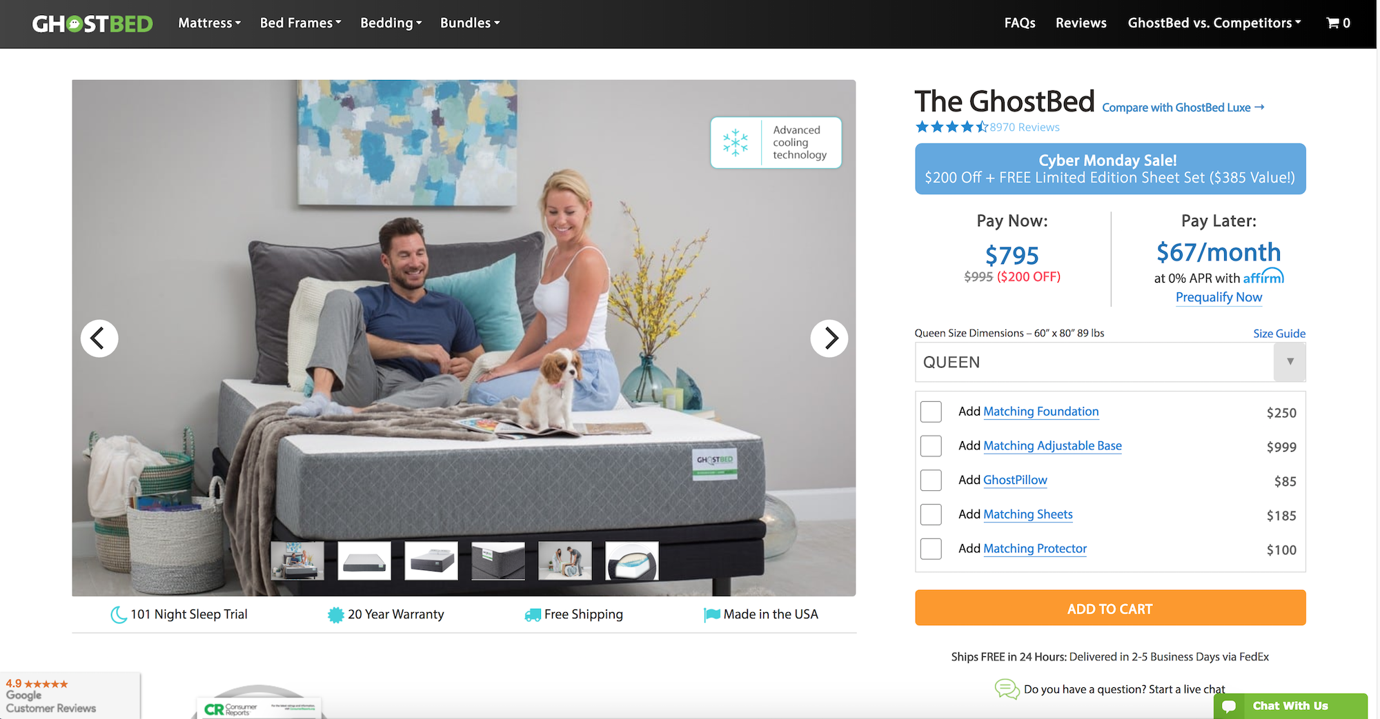 GhostBed returned from Klarna to access more customers - Image 3