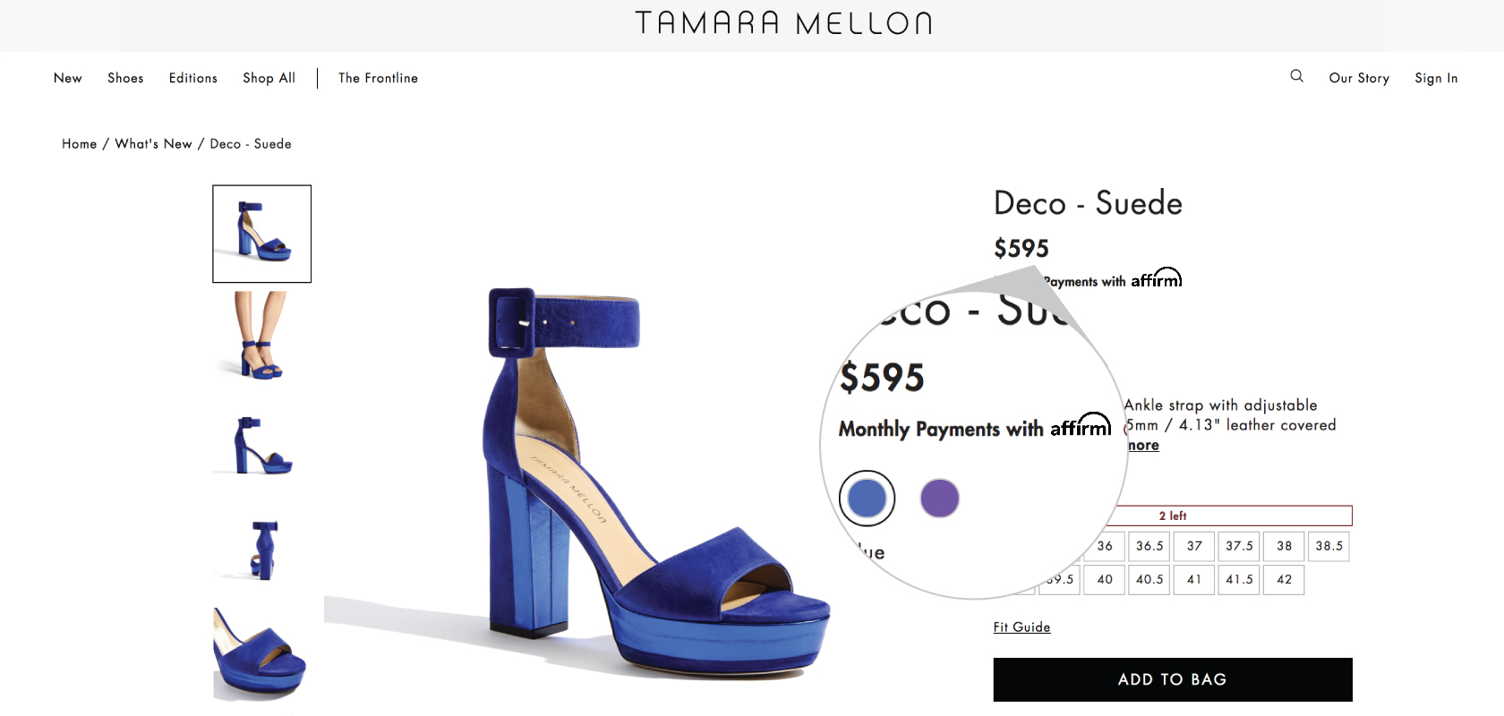 Tamara Mellon is making luxury more accessible with Affirm - Image 2