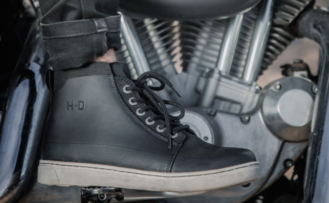 Harley-Davidson Footwear background