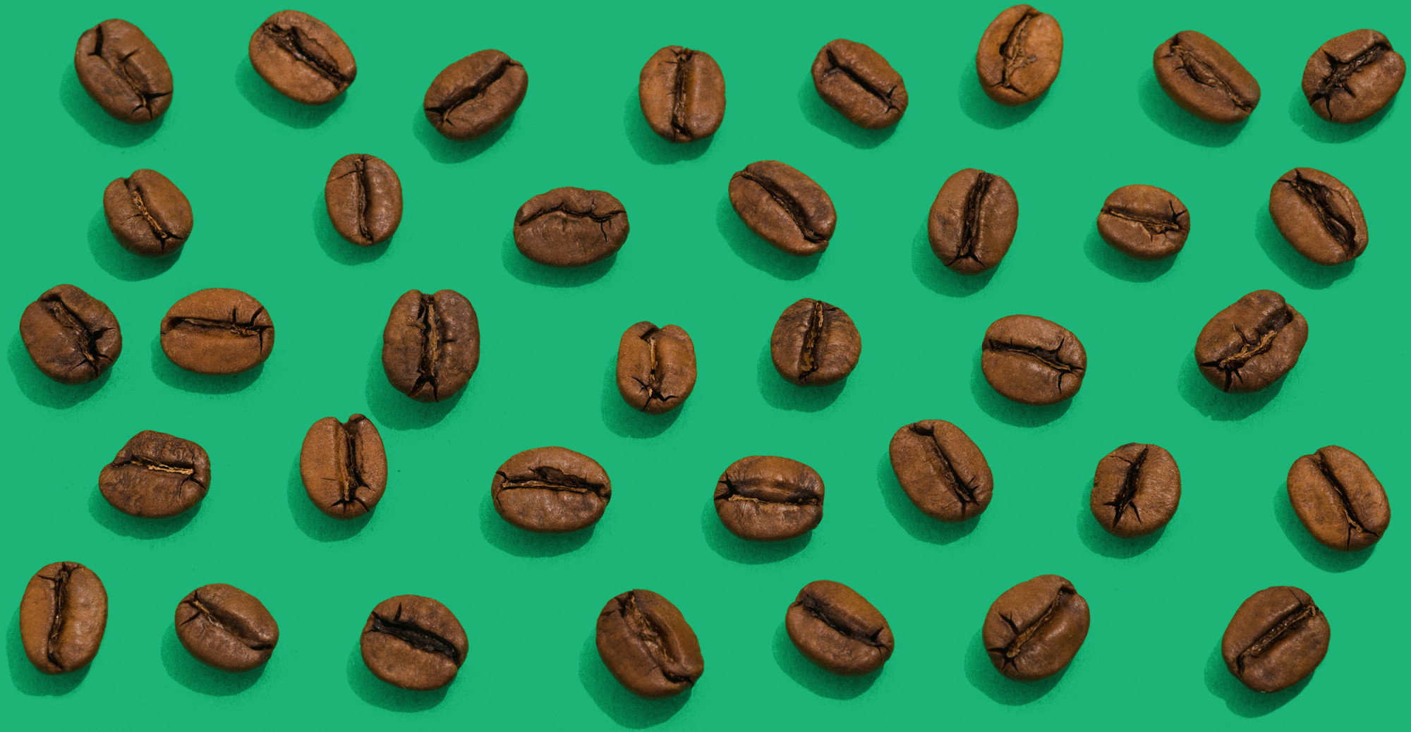 slurp-890-Edit-2-vertically-and-horizontally-continuous-2500- coffee beans on green background