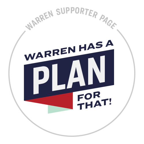 Personal Fundraising Warren Has a Plan for That
