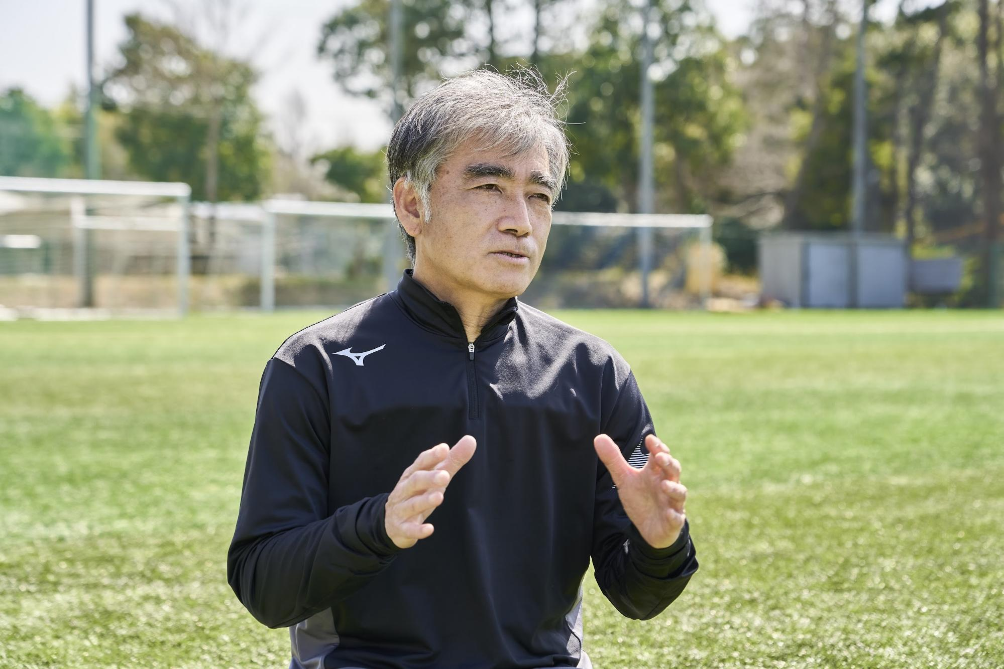 日本体育大学柏高校 サッカー部トレーナー 八木 治之 氏