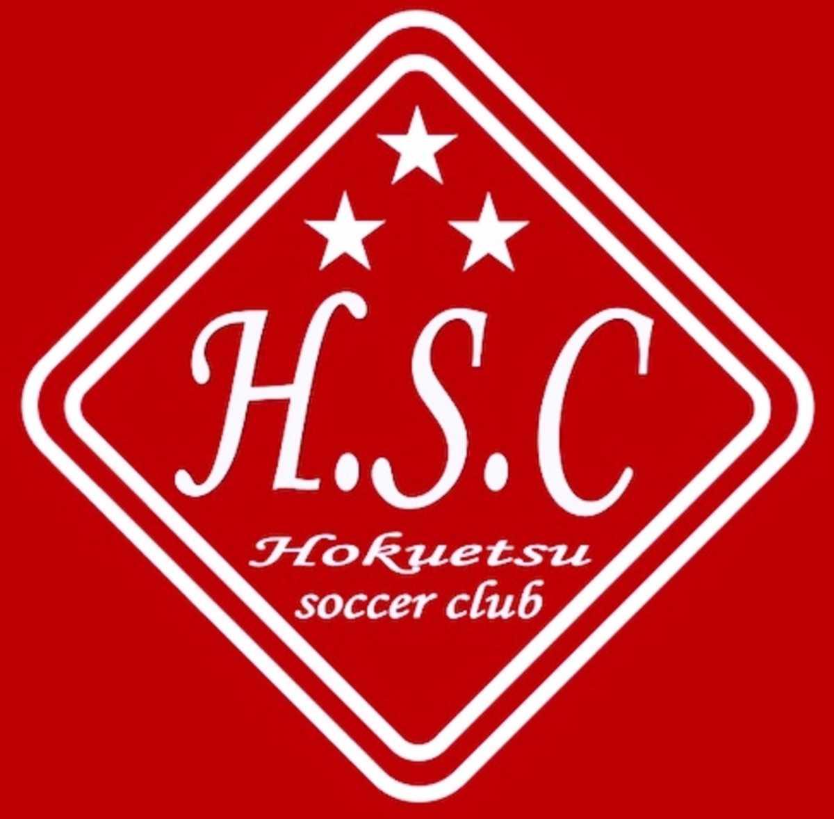 北越高校サッカー部ロゴ