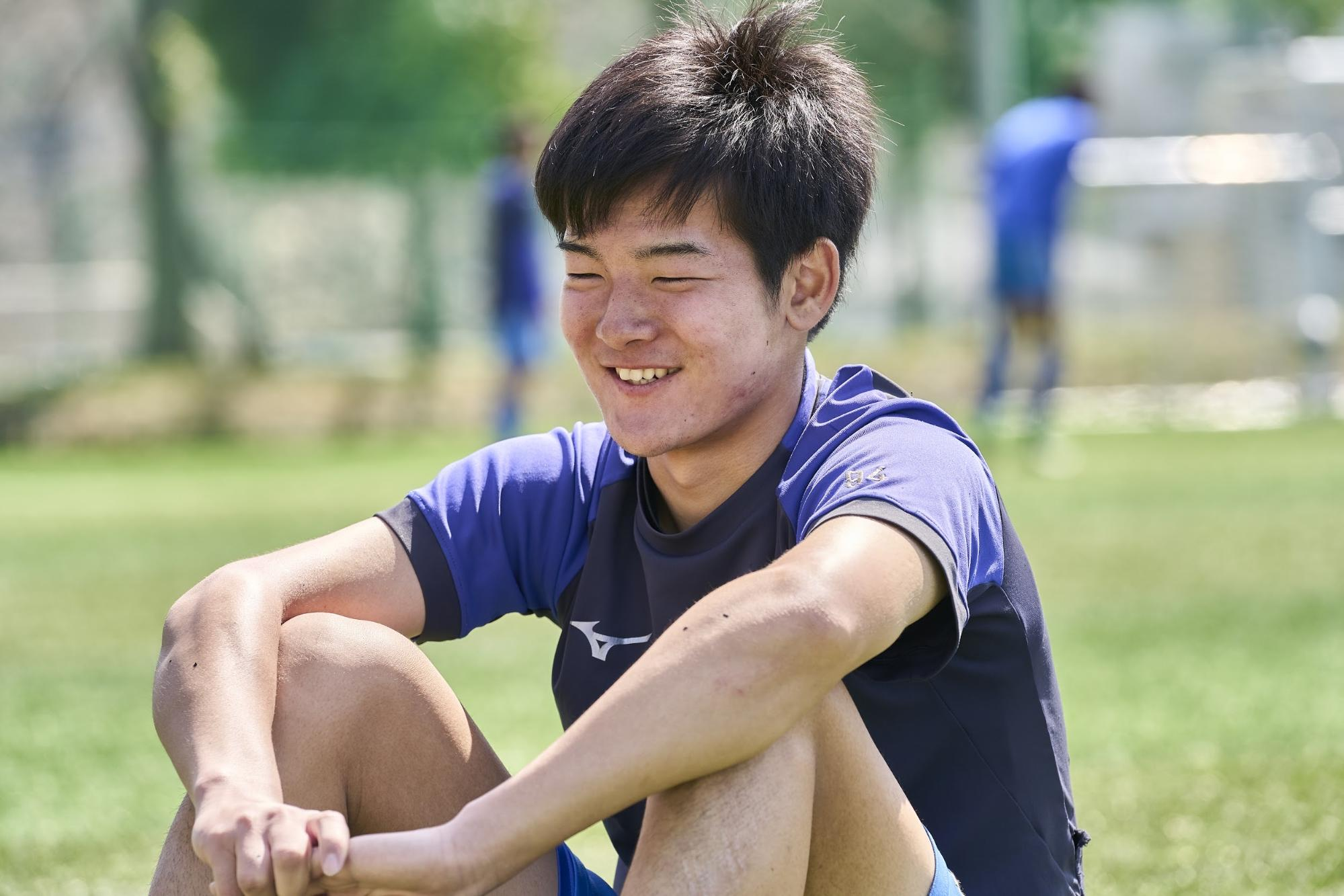 日本体育大学柏高校3年生 サッカー部副キャプテン 須藤 大智 氏