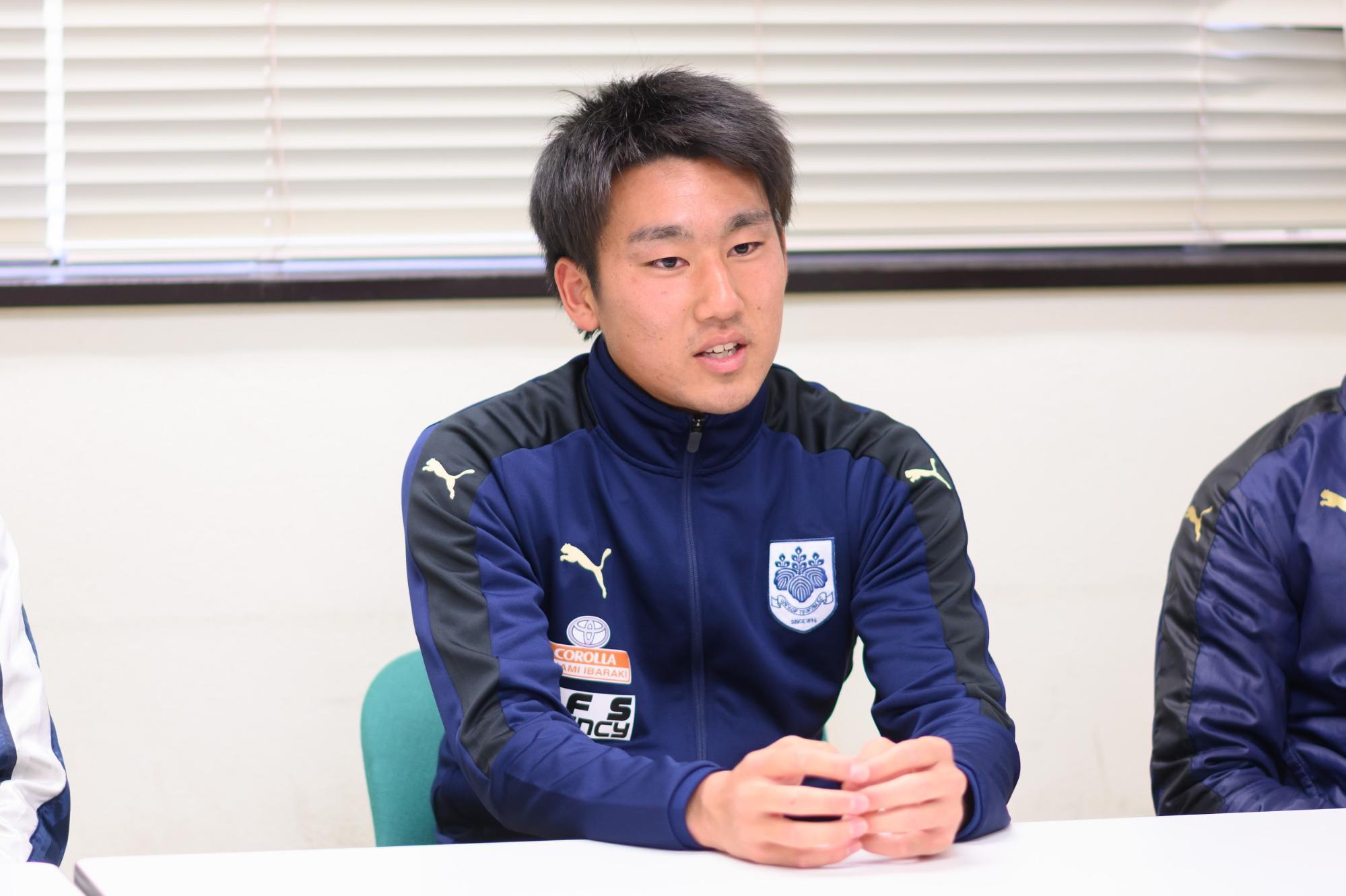筑波大学蹴球部2年生の加藤さん