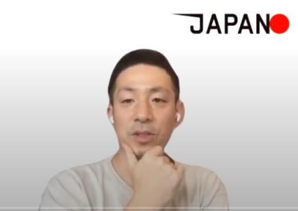 フェンシング男子フルーレ日本代表チームのアナリストの千葉洋平さん