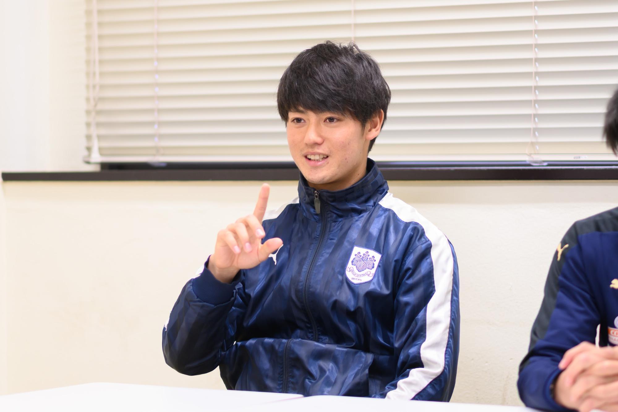 筑波大学蹴球部3年生の駒崎さん