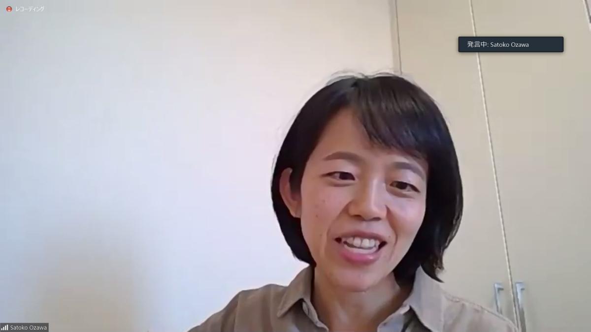小澤 智子氏 管理栄養士/株式会社ユーフォリア ONE TAP SPORTSユーザーサポートチーム所属