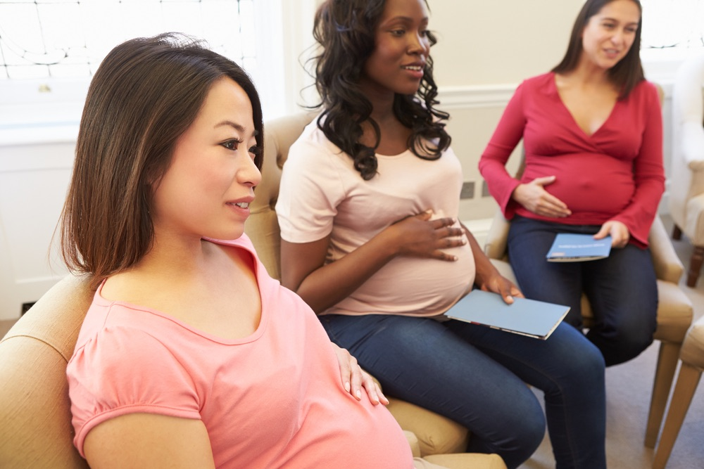Pregnant women who are of non-Caucasian background, including Asian, African American, and Indian are at a higher risk of developing gestational diabetes