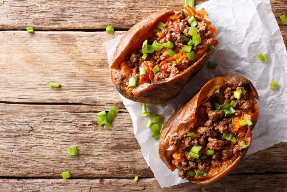 Mexican sweet potato skins as a low carbohydrate option for people with diabetes