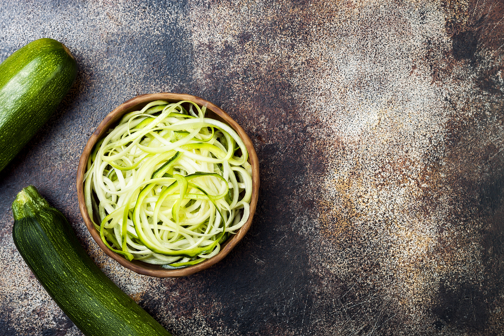 zoodles zucchini noodles one way to reduce carbohydrates in diet