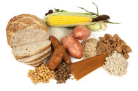 carbohydrate containing foods include vegetables, rice, pasta, grains like cereals