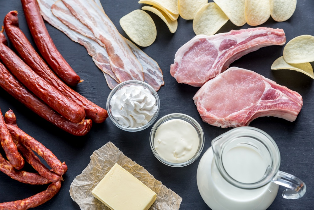 Reducing consuming of sources of saturated fat can help with weight loss in type 2 diabetes