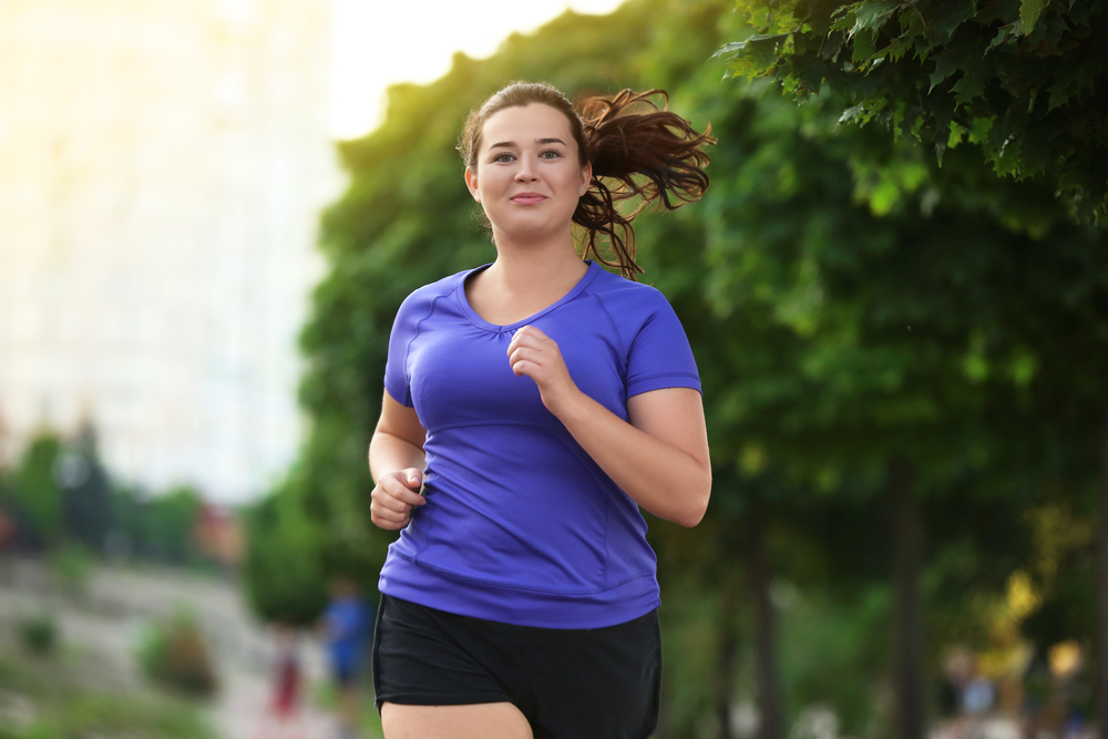 Overweight women with type 2 diabetes exercising to improve insulin resistance and lose weight