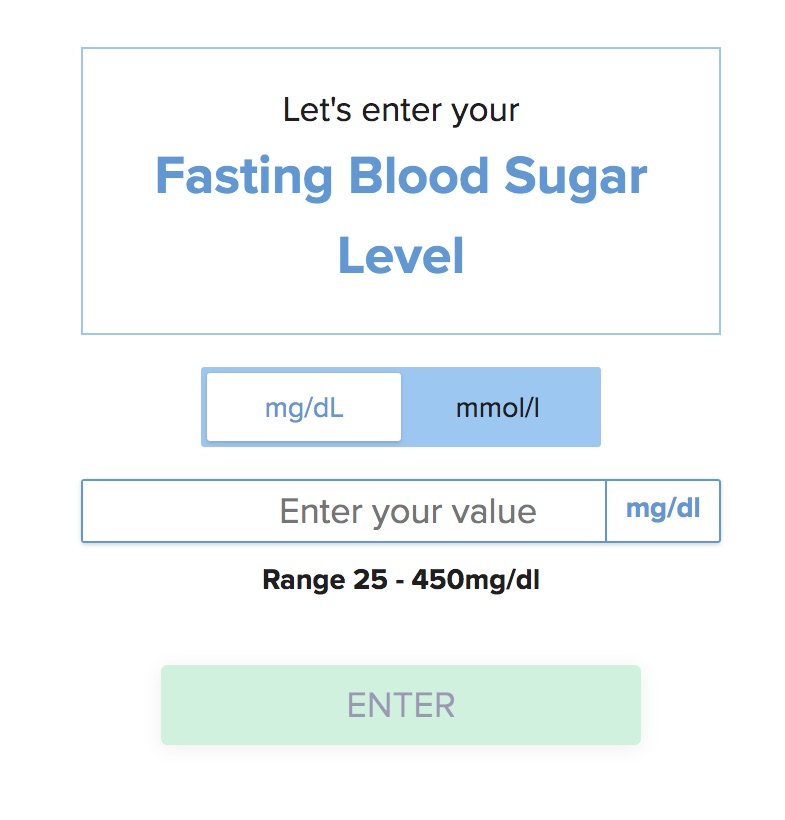 The fasting blood sugar blood or glucose level is a important measurement to defining whether a person has diabetes or borderline diabetes (also called prediabetes).