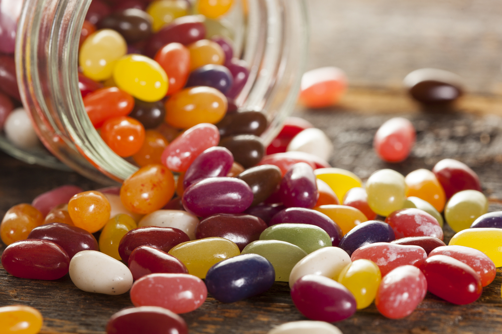jelly beans for hypoglycaemia treatment