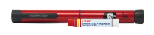 Fiasp NovoPen Echo and PenFill cartridge