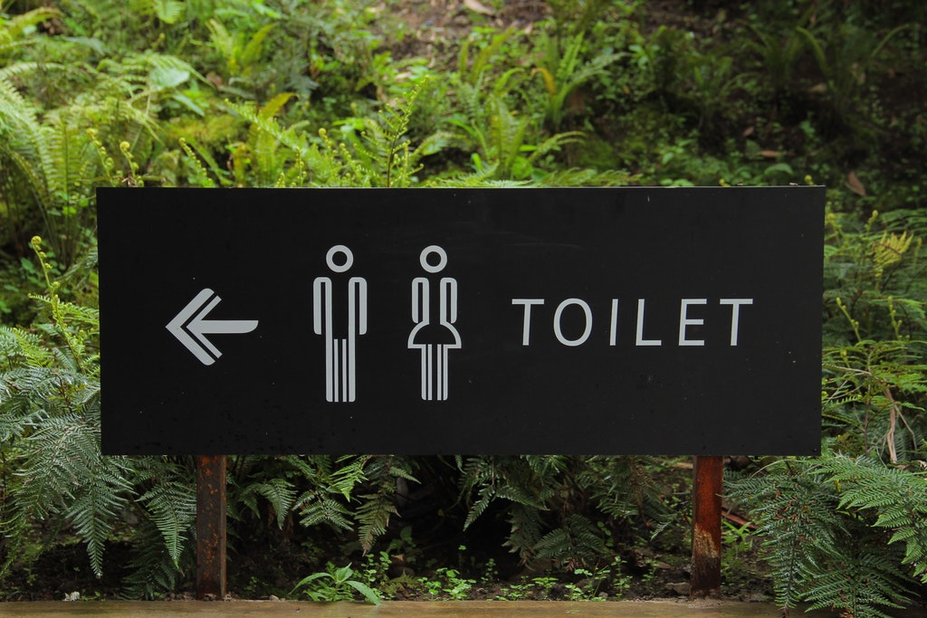 toilet sign, diarrhoea a common side effect of metformin when used for diabetes