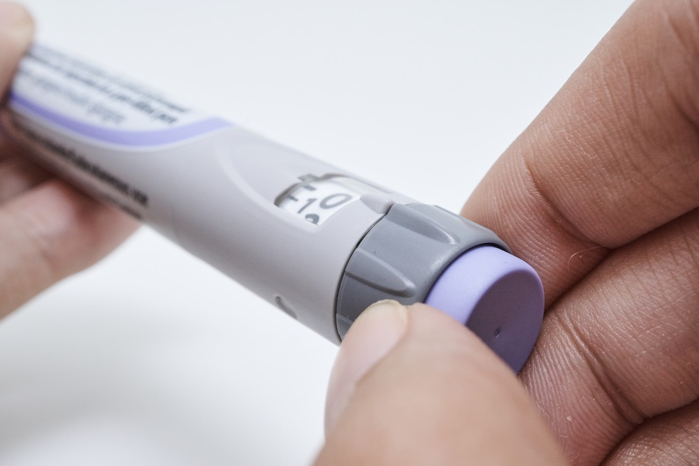 An insulin pen can be used in diabetes treatment for type 1 diabetes and type 2 diabetes