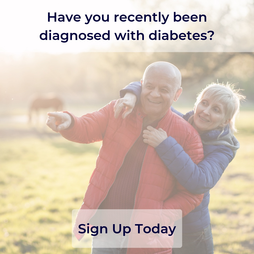 Have you recently been diagnosed with diabetes? Sign up for your personalised program today