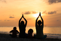 people with diabetes using mindfulness and yoga