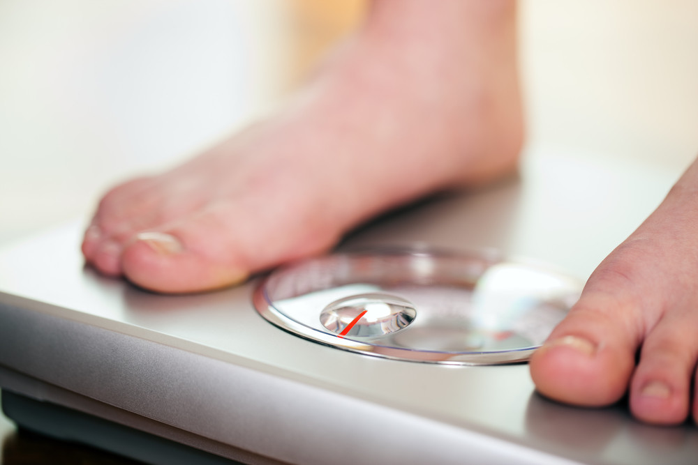overweight woman weight loss to prevent type 2 diabetes