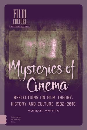 Mysteries Of Cinema Amsterdam University Press