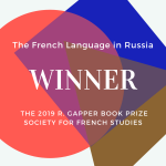 The French Language in Russia is the joint winner of the 2019 R. Gapper Book Prize