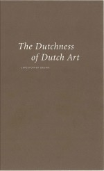 The Dutchness of Dutch Art
