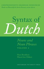 Syntax of Dutch: Nouns and Noun Phrases - Volume 2