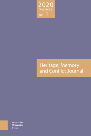 Heritage, Memory and Conflict Journal (HMC)