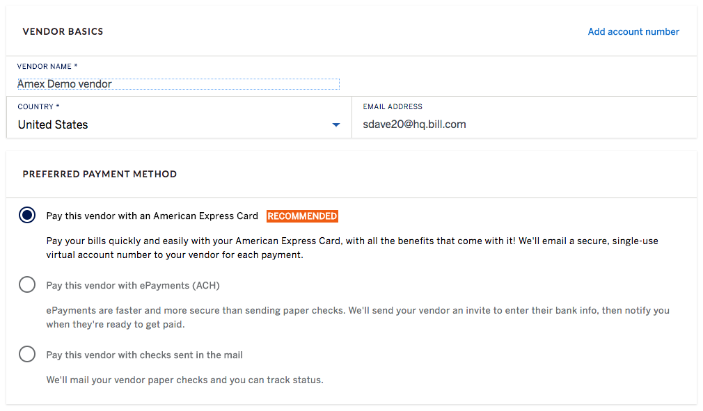 Payables - Vendor Management - Managing Vendor Pay payment methods - preferred payment method
