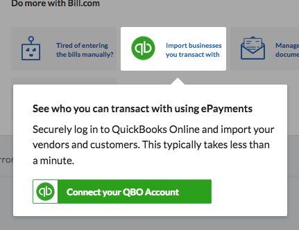 Receivables - Basic Receivables - Import your Customer list - Connect to QBO card