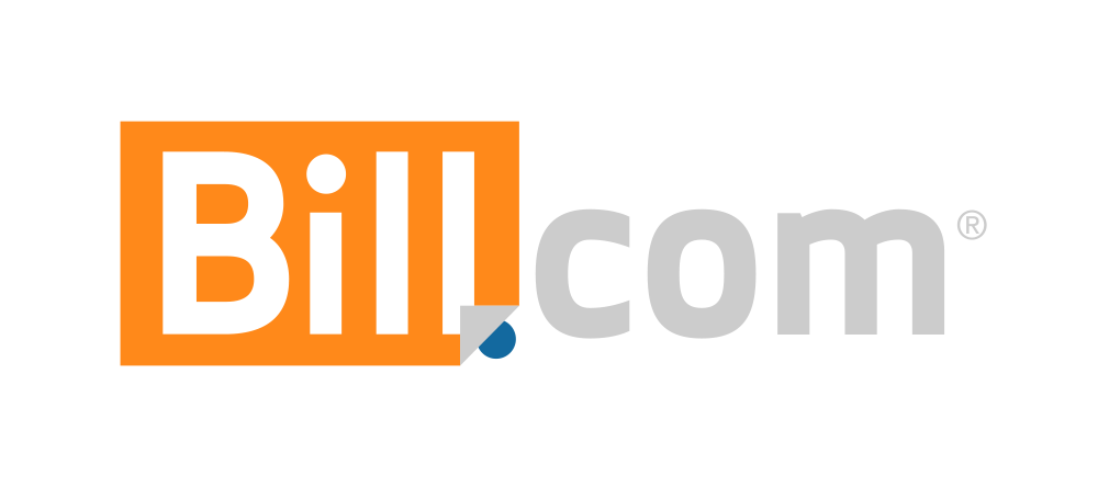 Bill.com logo for use on light backgrounds